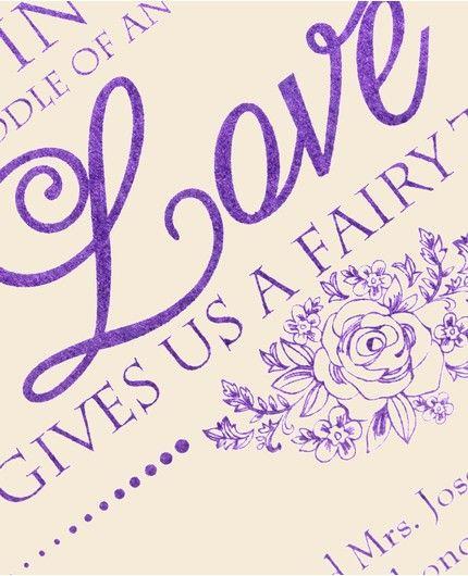 Fairy Tale Dream Invitation