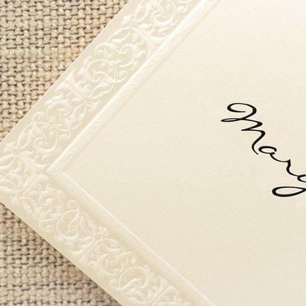 Filigree Note Card
