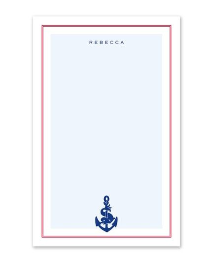 Anchor Note Pad