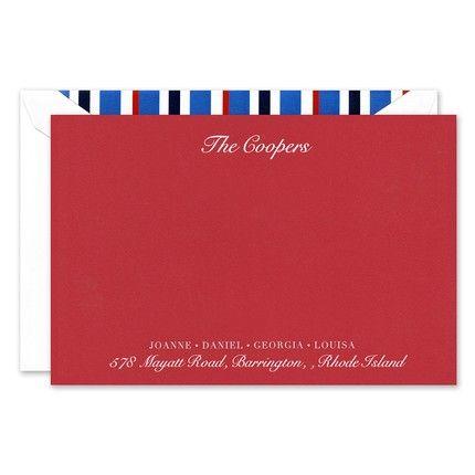 Chesapeake Flat Card