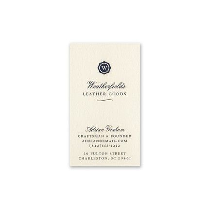 Monticello Business Card