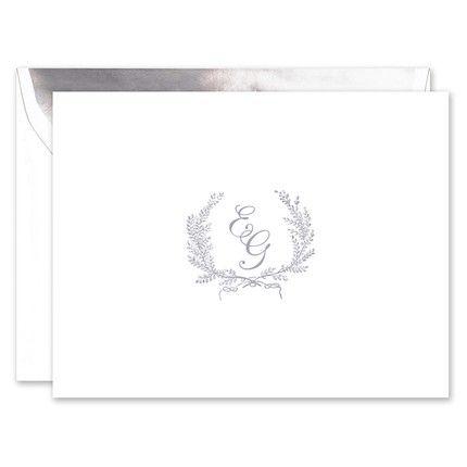 Laurel Wreath Note Card