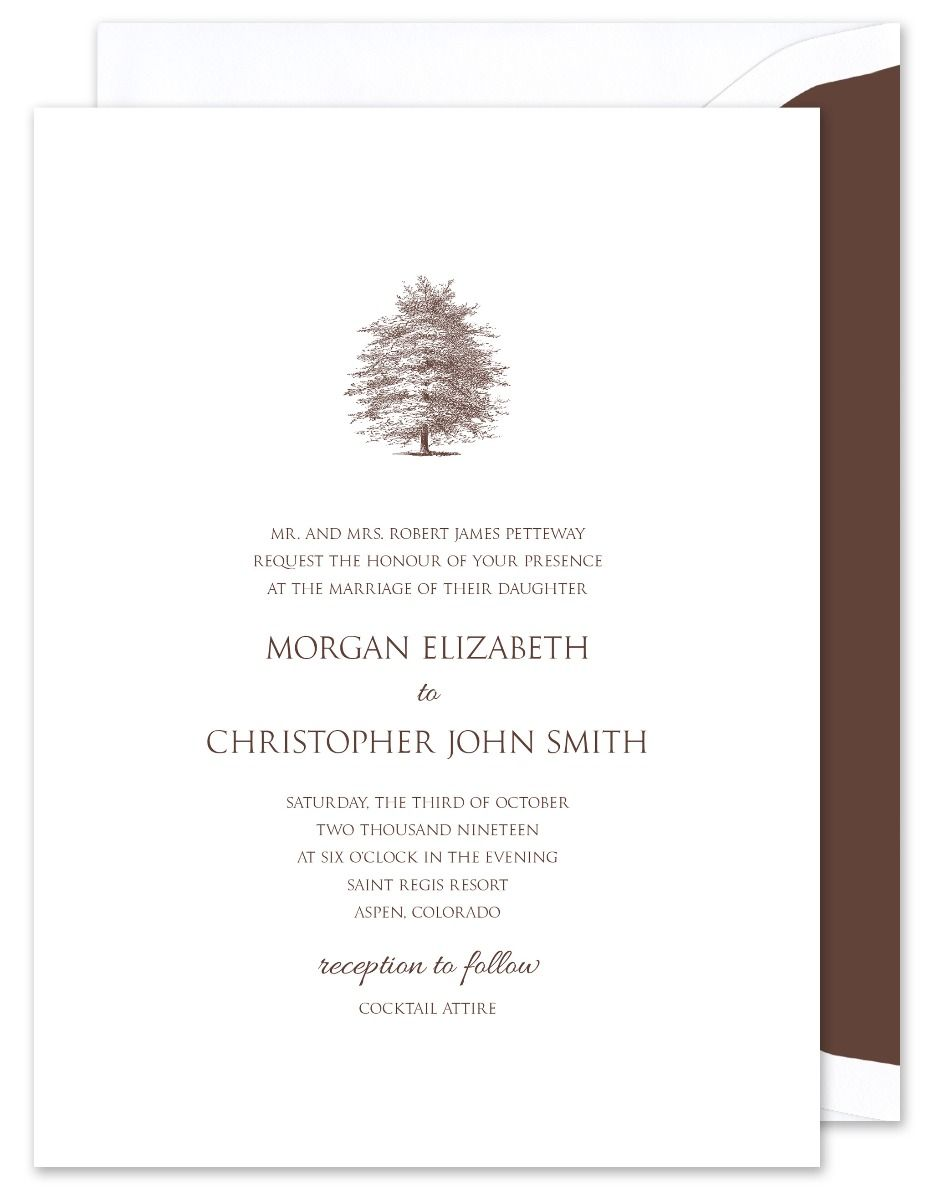 Tree Invitation