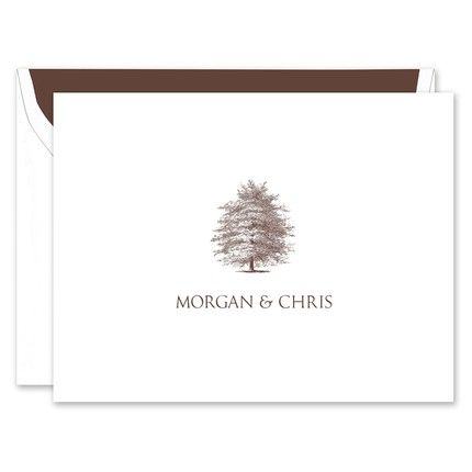 Tree Note Card