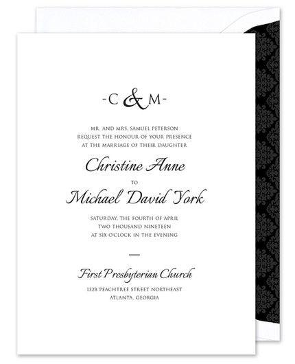Ampersand Invitation