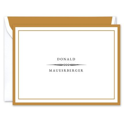 Donald Note Card