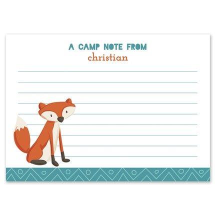 Sly Fox Flat Card