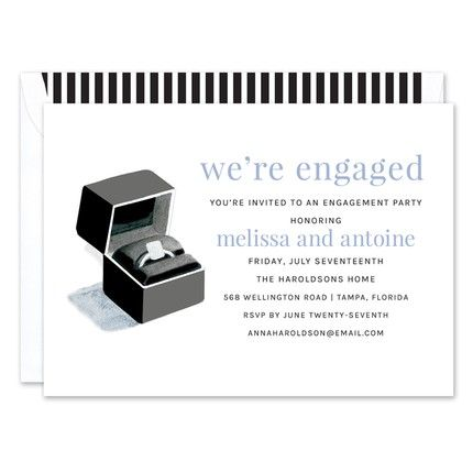 Ring Box Invitation