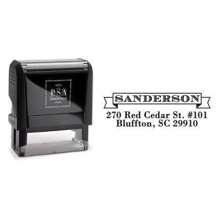 Sanderson Stamp