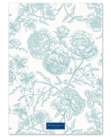 Floral Toile Announcement