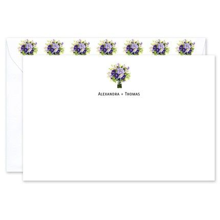 Bridal Bouquet Flat Card