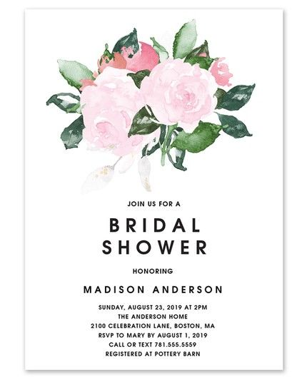 Chic Romance Invitation