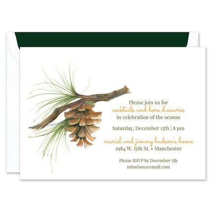 Pinecone Invitation