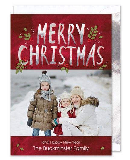 Merry Christmas Photo Card