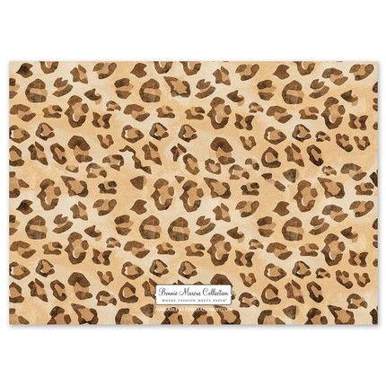 Leopard Ornaments Invitation
