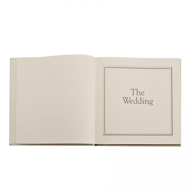 Leather Wedding Journal