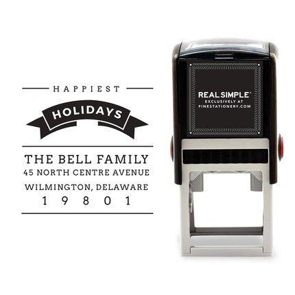Holiday Ribbon Stamp