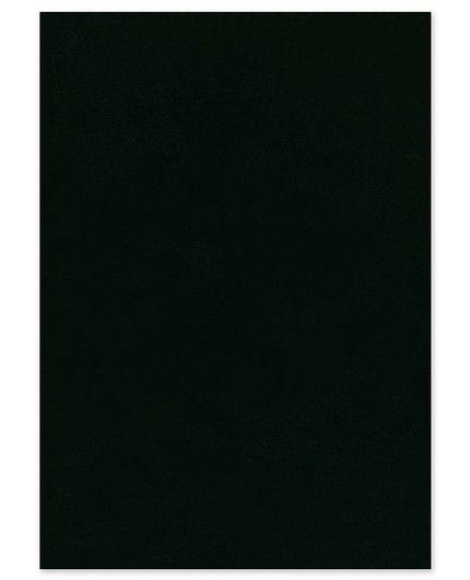 Black Confetti Invitation