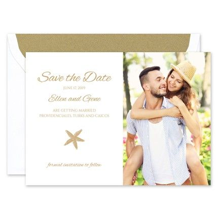 Starfish Save the Date