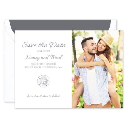 Sand Dollar Save the Date