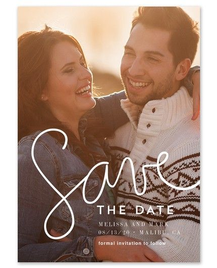 Simply Script Save the Date