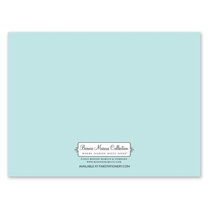 Stylish Shell Note Card
