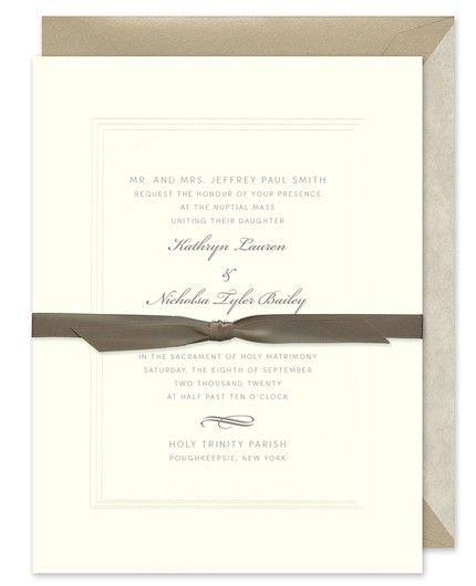 Sandstone Shimmer Invitation