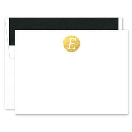Faux Foil Flat Card