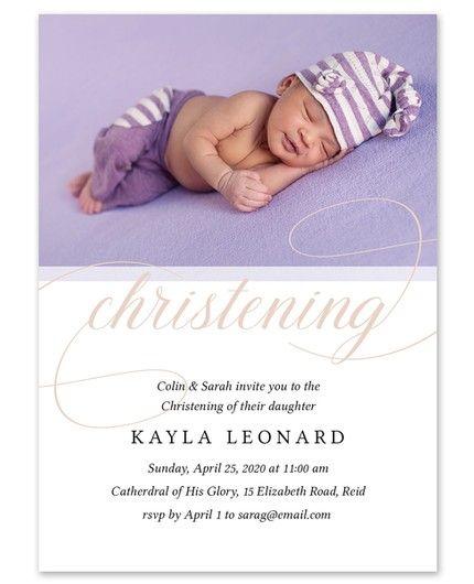 Christening Invitation