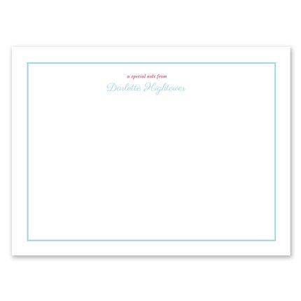 Darlette Flat Card