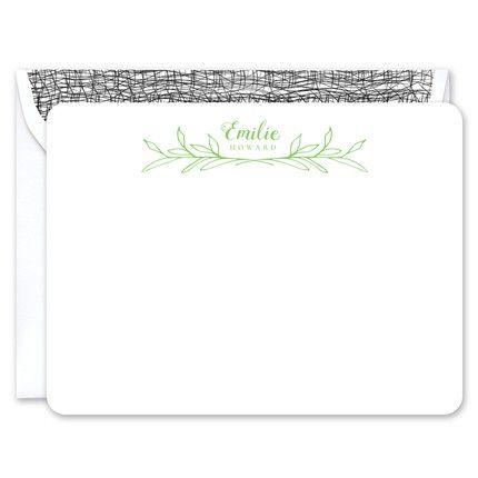 Emilie Flat Card