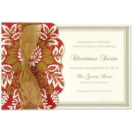 Red Pocket Invitation