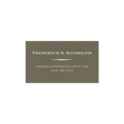 Graphite Business Card