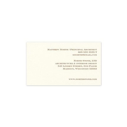 Ecru Digital Business Card