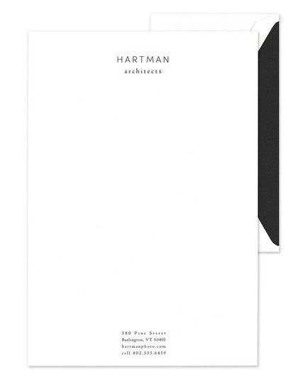 White Lettersheet