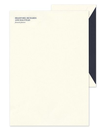 Ecru Business Lettersheet