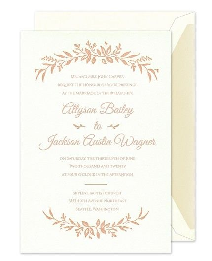 Wildflower Bliss Invitation
