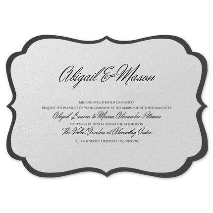 Classic Layers Invitation