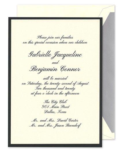Glamorous Invitation