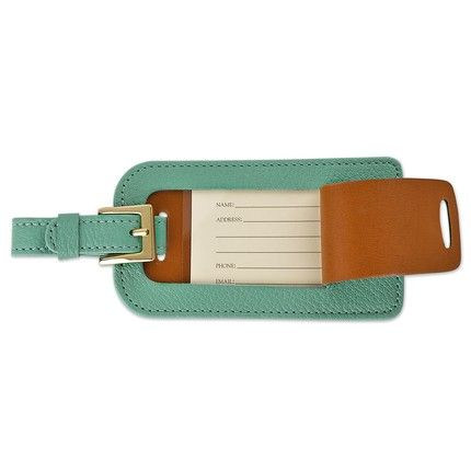Robin's Egg Blue Luggage Tag