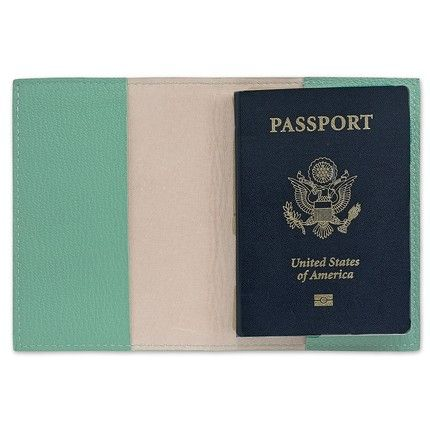 Robin's Egg Blue Passport Cover