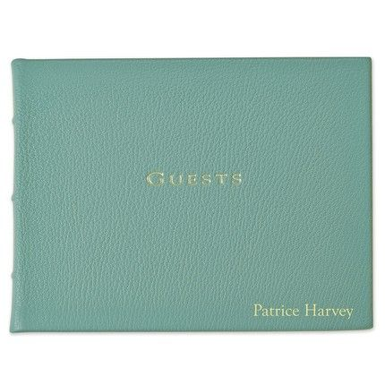 Robin's Egg Blue Guestbook