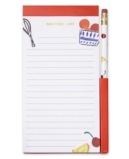 Pretty Pantry List Pad