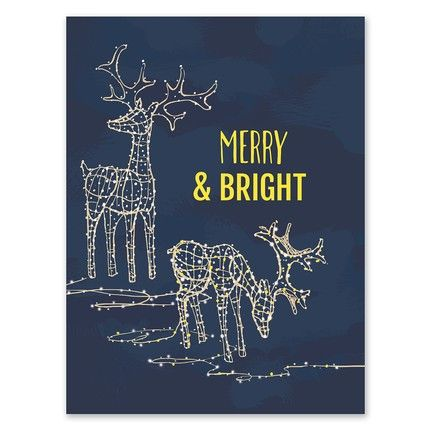 Bright Greeting Card