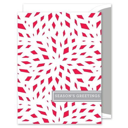 Red Greeting Card