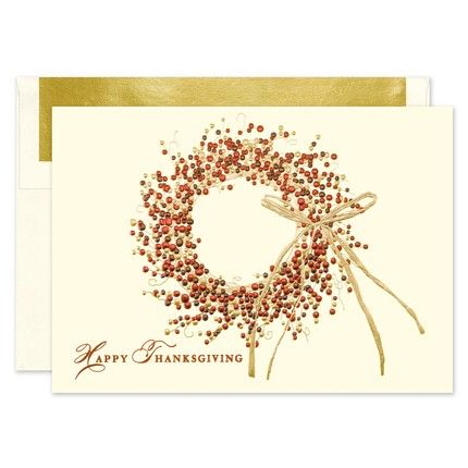 Color Wreath Greeting Card