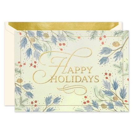 Rustic Holiday Greeting Card