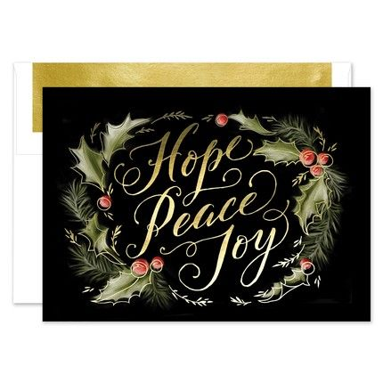 Holly Day Greeting Card