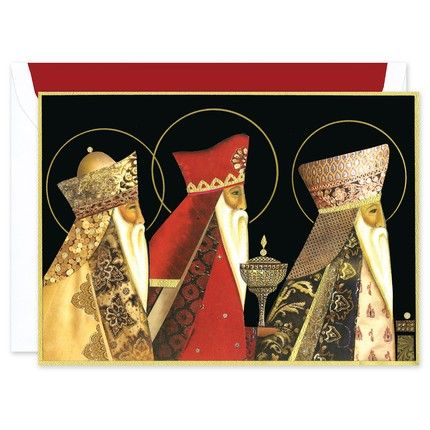 Three Kings Greeting Card
