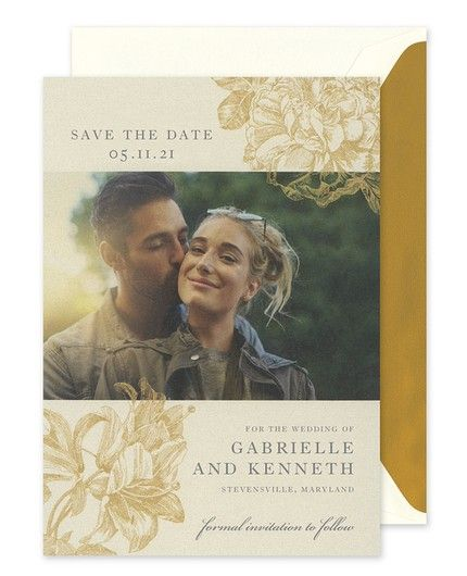 Opal Shimmer Save The Date